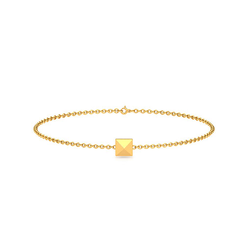 pyramid-bracelet-yellow-gold-medium