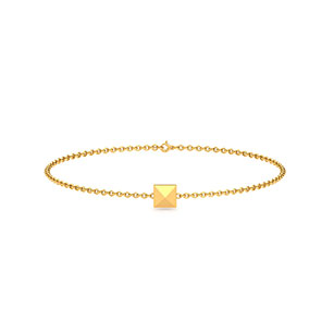 pyramid-bracelet-yellow-gold-small