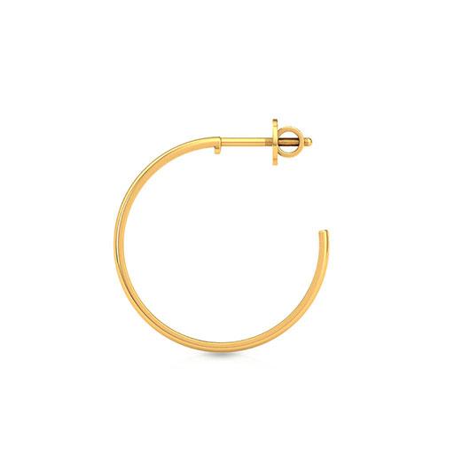 absolute-hoop-earrings-one-yellow-gold-medium