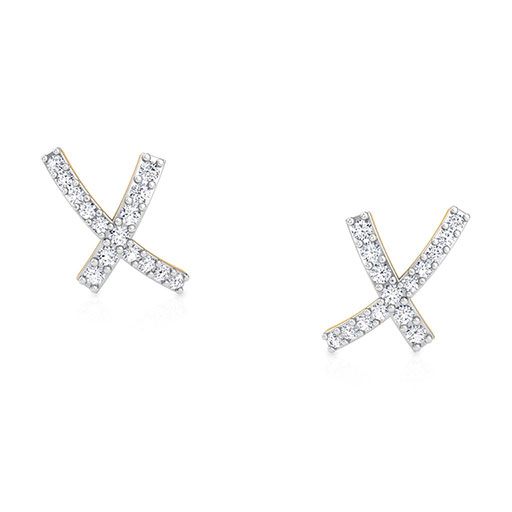arched-xx-stud-earrings-yellow-gold-medium