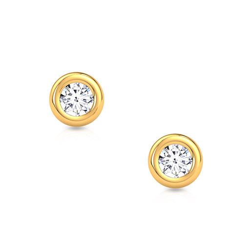 bezel-diamond-stud-earrings-yellow-gold-medium