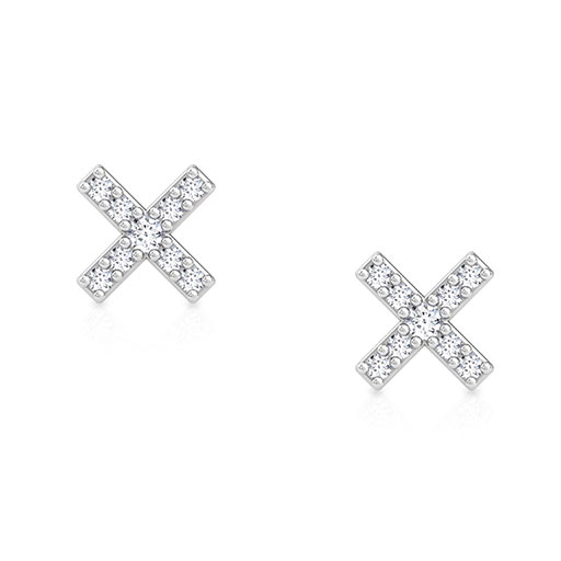 crossbar-stud-earrings-rose-gold-medium