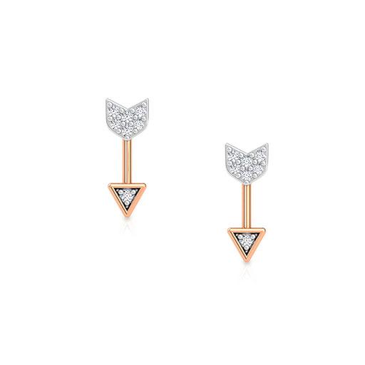 cupids-arrow-stud-earrings-rose-gold-medium