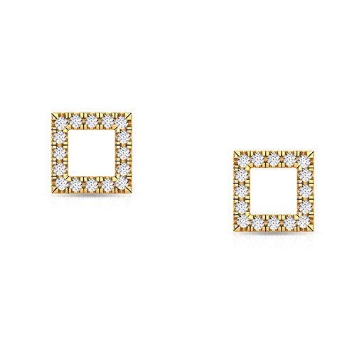 diamond-frame-stud-earrings-yellow-gold-medium