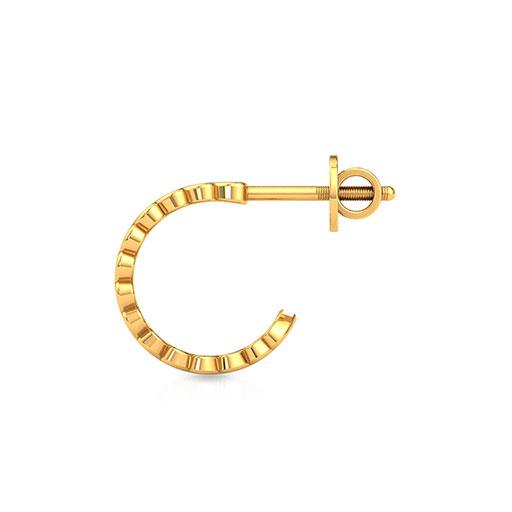 eternal-love-hoop-earrings-one-yellow-gold-medium
