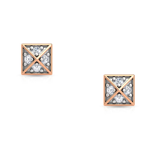 mini-grand-pyramid-stud-earrings-rose-gold-medium