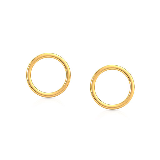 modish-stud-earrings-yellow-gold-medium