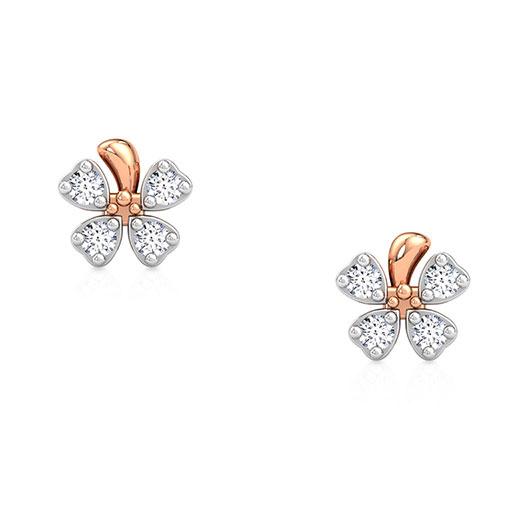 orchid-flower-stud-earrings-rose-gold-medium