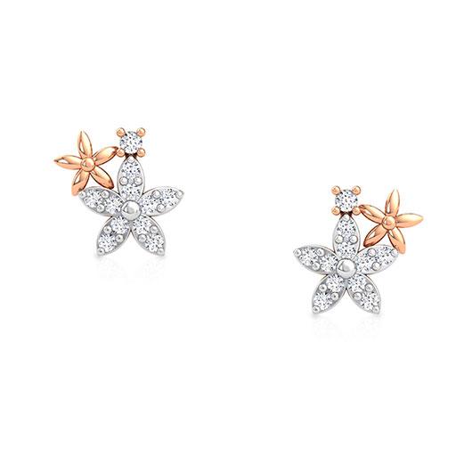 periwinkle-stud-earrings-rose-gold-medium