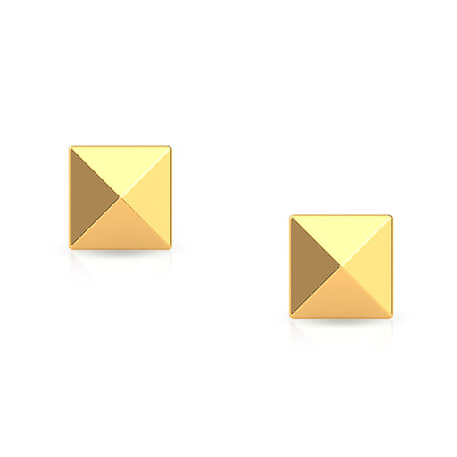 pyramid-stud-earrings-yellow-gold-medium