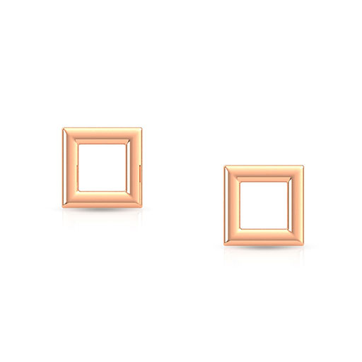 royal-frame-stud-earrings-rose-gold-medium