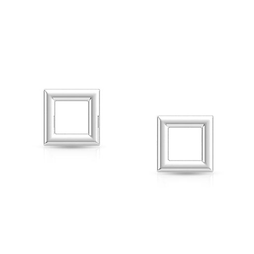 royal-frame-stud-earrings-white-gold-medium