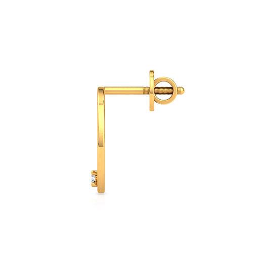 studded-modish-stud-earrings-one-yellow-gold-medium