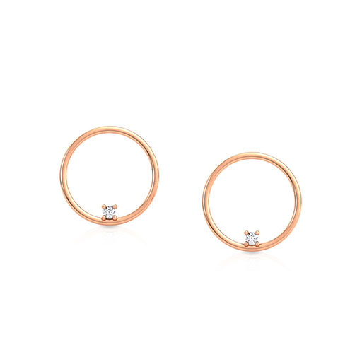 studded-modish-stud-earrings-rose-gold-medium