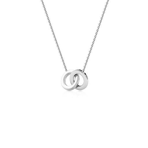 golden-interlock-necklace-one-white-gold-medium