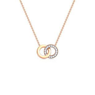 infinity-interlock-necklace-rose-gold-small