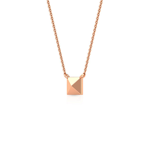 pyramid-necklace-one-rose-gold-medium