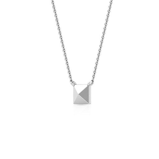 pyramid-necklace-one-white-gold-medium