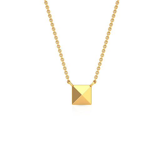 pyramid-necklace-yellow-gold-medium