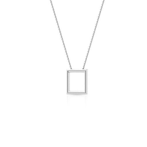 royal-frame-necklace-one-white-gold-medium