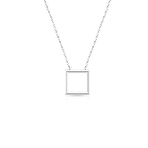royal-frame-necklace-white-gold-medium