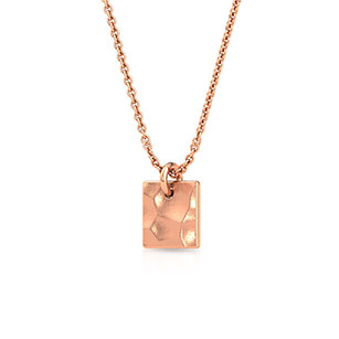 hammered-box-pendant-one-rose-gold-small