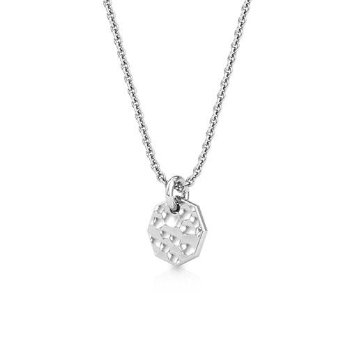 hammered-plate-pendant-one-white-gold-medium
