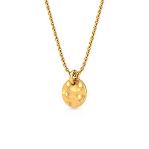 hammered-sphere-pendant-one-yellow-gold-small