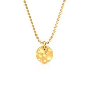 hammered-sphere-pendant-yellow-gold-small