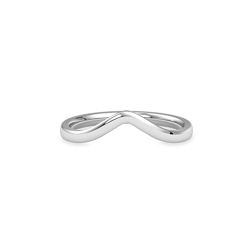 golden-wave-casual-ring-white-gold-medium